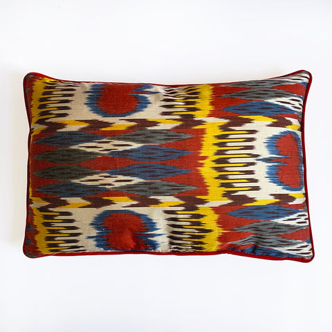 Silk Ikat Cushion