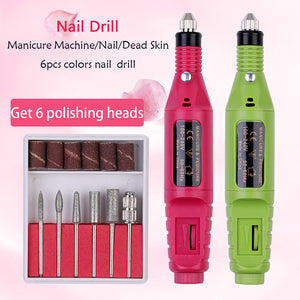 Professional Electric Nail Drill Machine - EU Plug