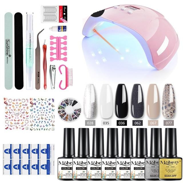 MobraMobray Acrylic Nail Kit - 23Pcs/Set