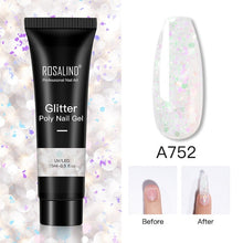 Load image into Gallery viewer, ROSALIND Glitter Poly Nail Gel Extension 15ml