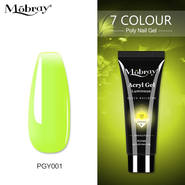 Mobray Polygel Tube -15ml - Luminous