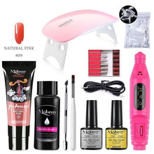 Load image into Gallery viewer, Mobray Poly Nail Gel Kit For Manicure