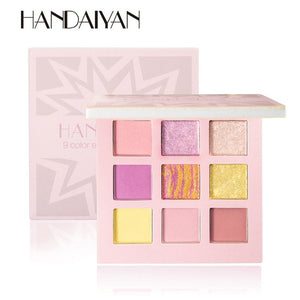 HANDAIYAN - Eyeshadow palette - 09 Color