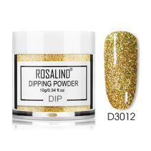 Load image into Gallery viewer, ROSALIND Glitter Dip Powder Nail Pigment Dust 10g