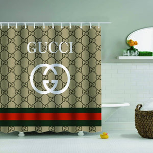 gucci shower curtain