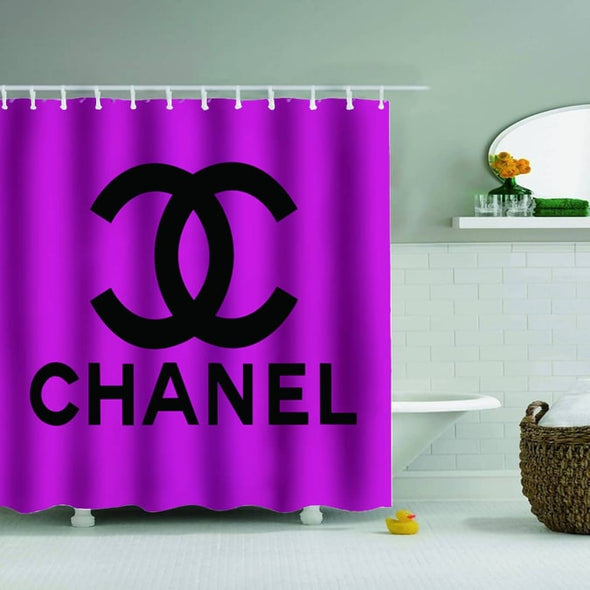CHANEL SHOWER CURTAIN