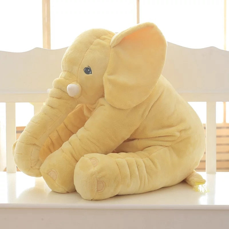 Kids Elephant Soft Pillow Large