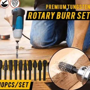 Rotary 5pcs/set burr Drill Bits Set