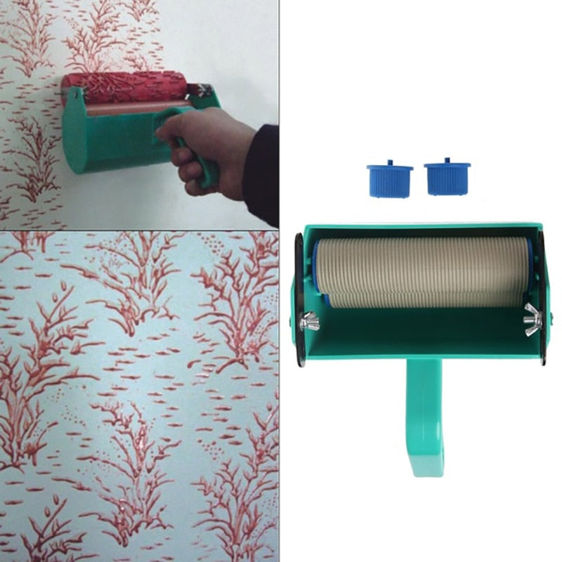DIY Set Wall Paint Roller Brush Tools Pro - ROSAMISS STORE