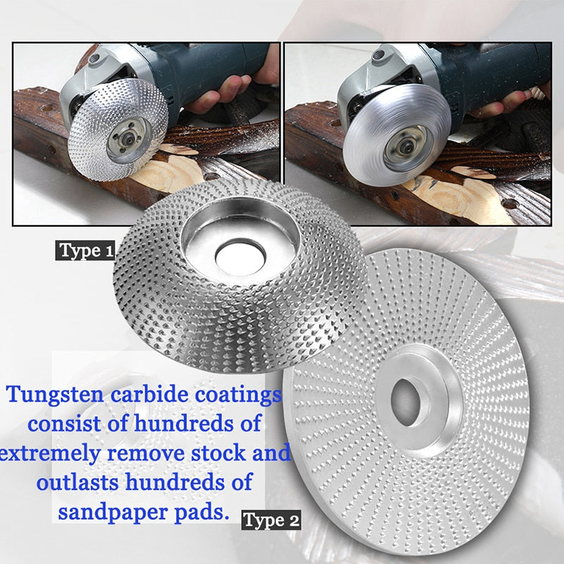 SharpShaper Tungsten Carbide Grinding Wheel Wood Shaping Grinder Wheel - ROSAMISS STORE