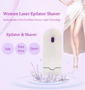 Laser Hair Removal Epilator Women Shaver