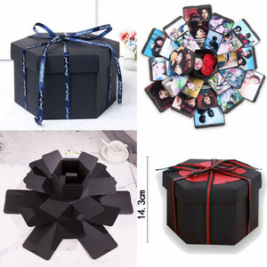 Creative DIY Surprise love explosion Gift box - ROSAMISS STORE