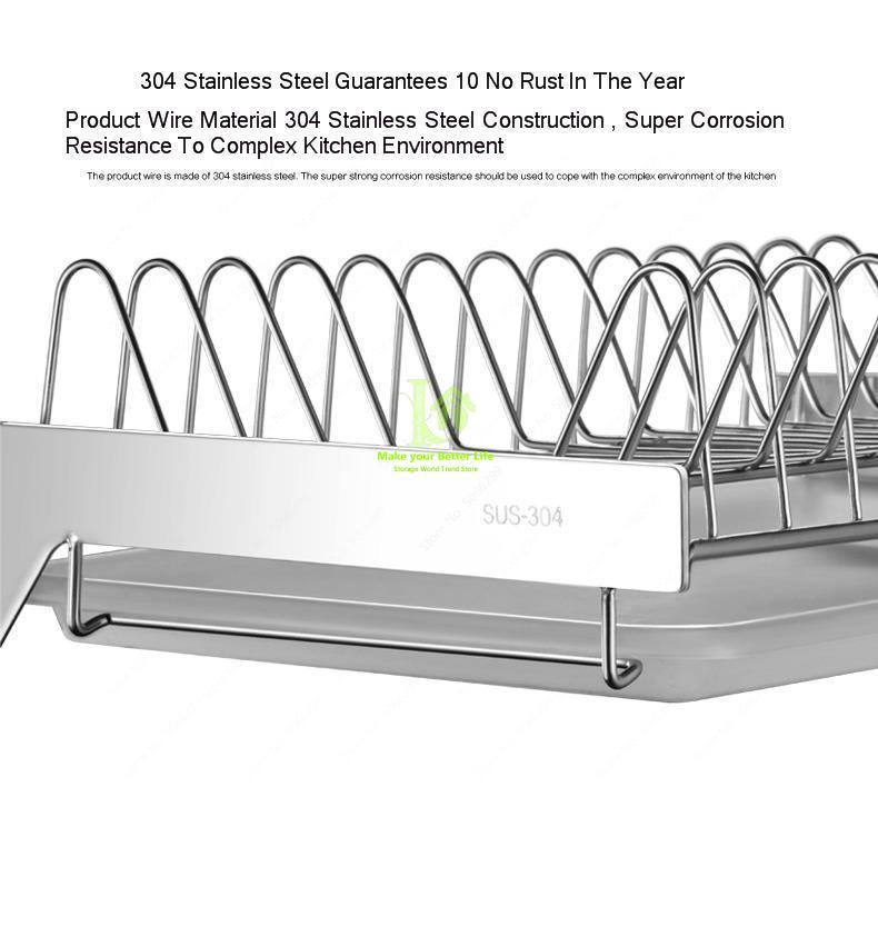stainless steel kitchen storage rack - ROSAMISS STORE