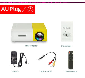 Mini 1080p Portable Projector - ROSAMISS STORE