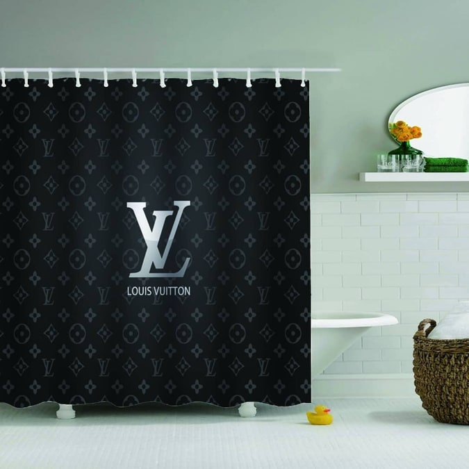shower curtain Louis Vuitton