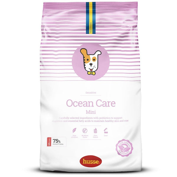 Husse Ocean Care Sensitive (Saumon & Riz) mini 7 kg