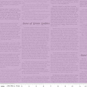 Anne of Green Gables -Text - Periwinkle APRIL