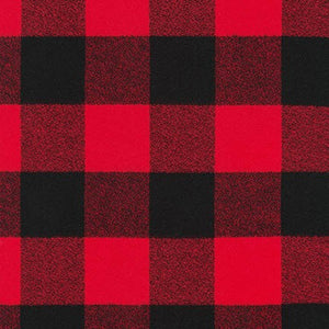 Mammoth Flannel - Buffalo Check - Red/Black 🇨🇦