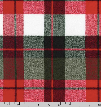Mammoth Flannel - Red/White/Grey/Black🇨🇦