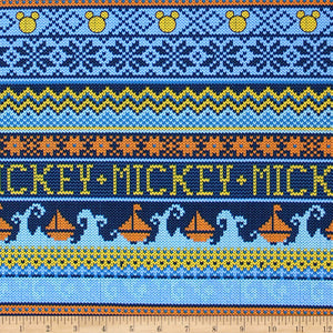Mickey Mouse Oh Boy! - MM Blue Sweater