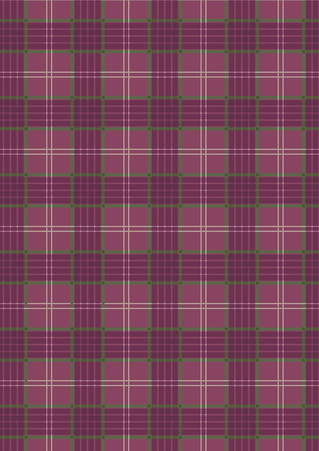 Lewis &  Irene - Celtic Coorie - Purple Check 🇨🇦