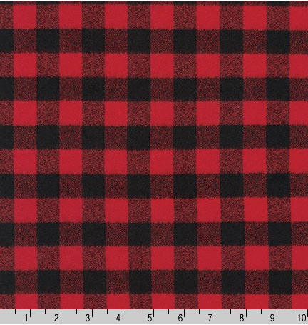 Mammoth Flannel - Buffalo Check Small - Red/Black 🇨🇦