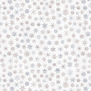 Snowflakes- Brushed Flannel