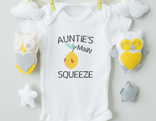 Load image into Gallery viewer, Auntie's Main Squeeze/Funny Baby Onesie