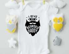 Load image into Gallery viewer, Bearded Daddy Onesie