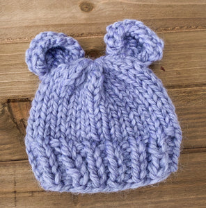 Gray Baby Bear Hat