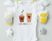 Load image into Gallery viewer, I Like You A Latte Onesie