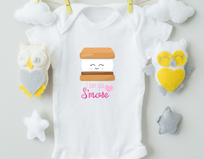 I love You S'more Onesie