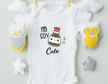 Load image into Gallery viewer, I'm Soy Cute Onesie/Funny Baby Onesie