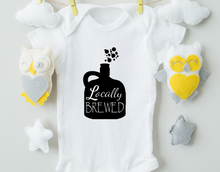 Load image into Gallery viewer, Locally Brewed Onesie