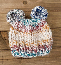 Load image into Gallery viewer, Multicolor Baby Bear Hat