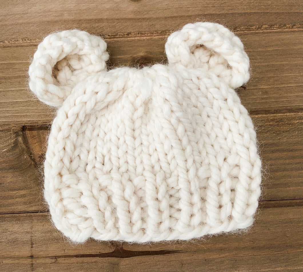 Off-White Baby Bear Hat