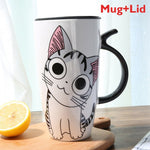 Load image into Gallery viewer, Super Adorably Cute And Unique Cat Ceramic Coffee or Tea Mug