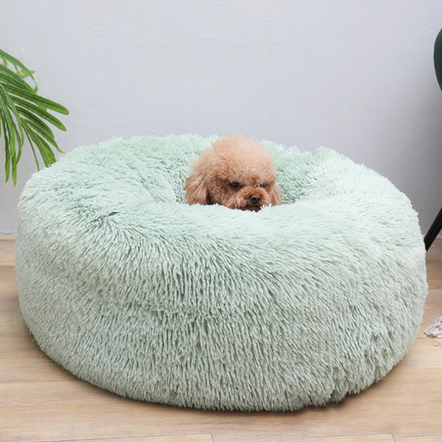 Flurrel Fluffy Luxurious And Comfortable Faux Fur Pet Lounger