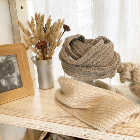 Sustainable Cashmere® Baby Hat Ripple Pattern - Custom Knit