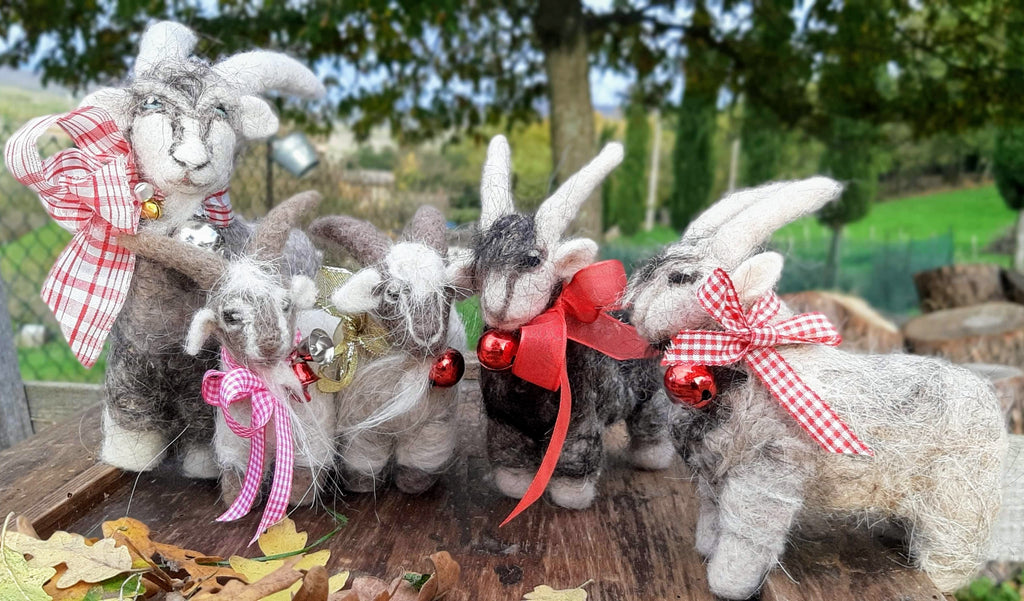 FELTED SHEEP AND GOATS