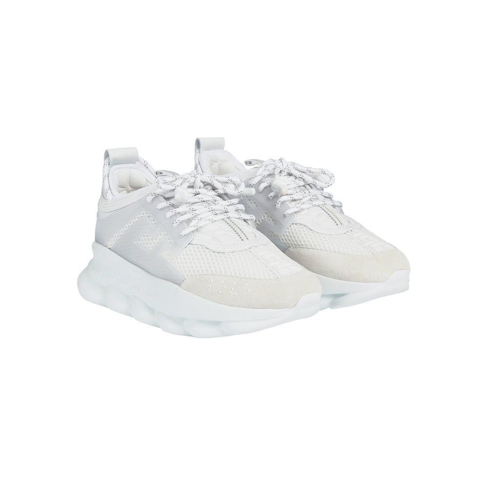 Chain Reaction Sneaker ALL WHITE