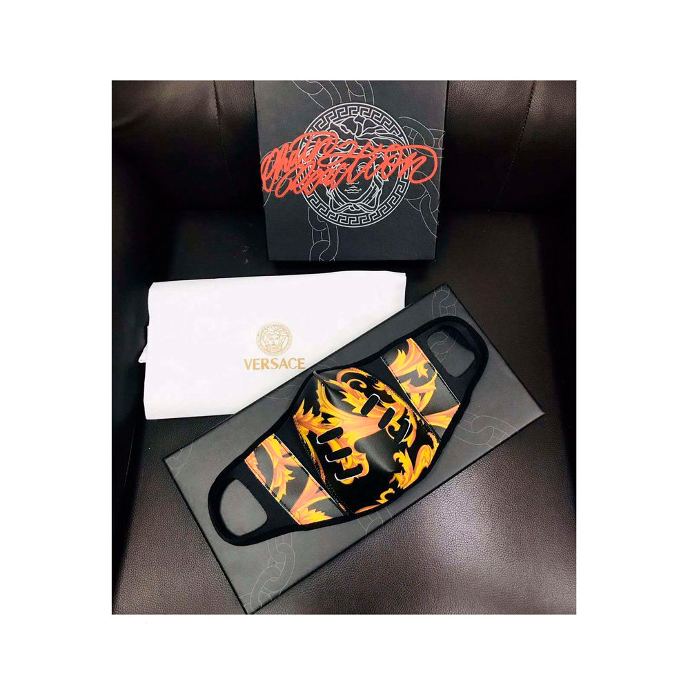 Medusa Face Mask BLACK