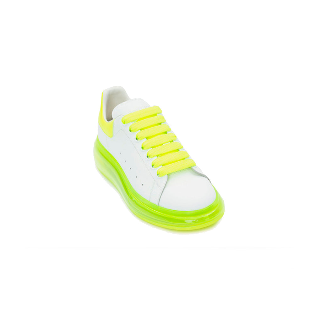 Oversized Sneaker Clear Sole YELLOW WHITE