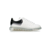 Oversized Sneaker Clear Sole WHITE BLACK
