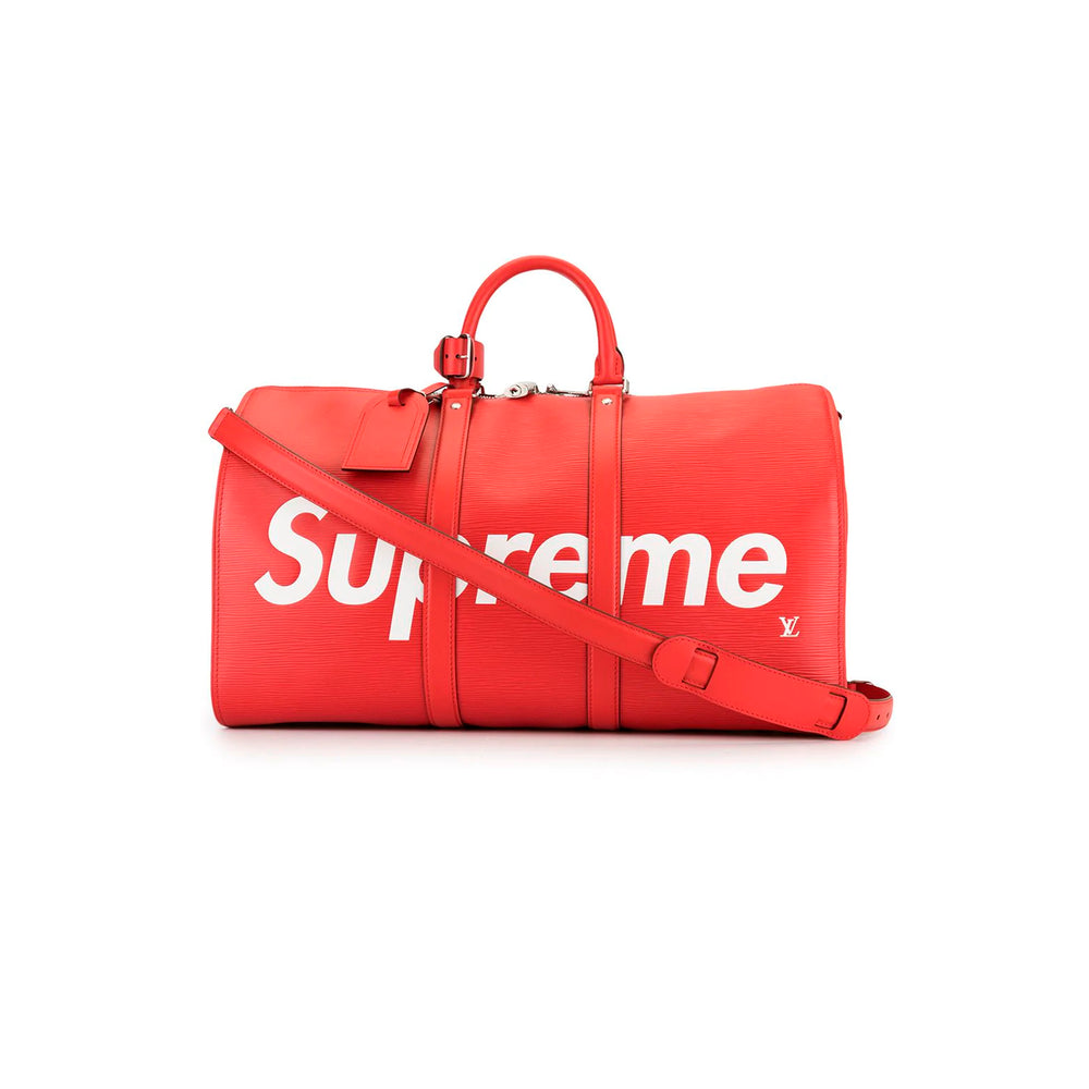 Supreme Epi Keepall Bandouliere 55 Red