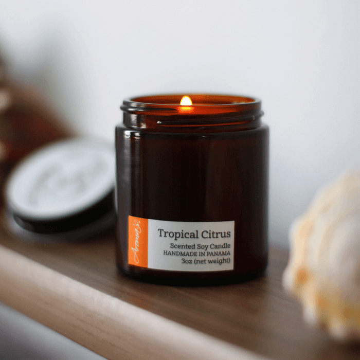 Tropical Citrus Soy Candle