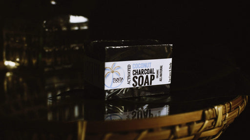 Activated Coconut Charcoal Soap