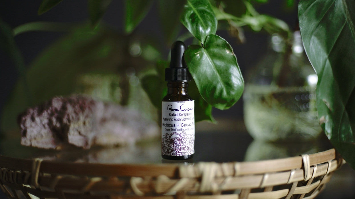 Rose Cacao Hyaluronic Acid Serum
