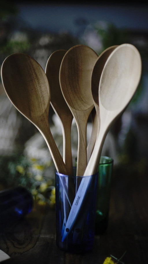 Large Wooden Pine Spoon