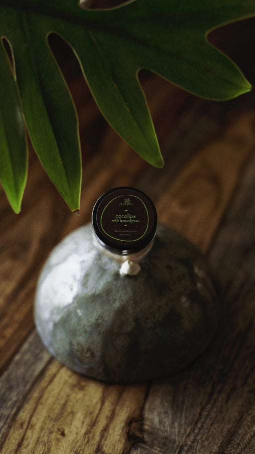 Coco Lip Balm w/ Lemongrass